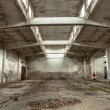 Industrial building interior - Stock Photo