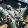 Постер, плакат: Statues of firefighters in Chernobyl