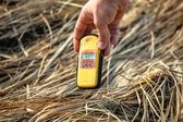 Geiger counter in Chernobyl — Stock Photo