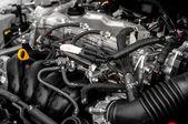 Temiz motor bloğu ait closeup fotoğraf — Stok fotoğraf