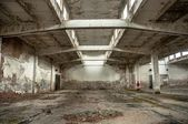 Industrial building interior — Foto Stock