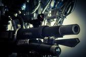 近代兵器のクローズ アップ — ストック写真