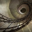 Round stairs in a church — Stock Photo