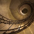 Round stairs in a church — Stock Photo #18057433