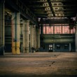 An abandoned industrial interior — Stock Photo #18057637