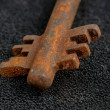 Rusty old keys - Stock Photo
