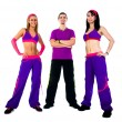 Stock Photo: Group of dance instructors