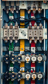 An industrial switch box — Stock Photo