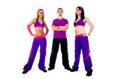 A group of dance instructors — Stock Photo