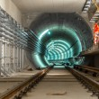 Underground facility with a big tunnel — Stock Photo #19643731