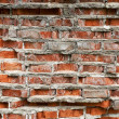 Stock Photo: closeup of a brick wall