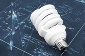 エネルギー効率の高い電球 — ストック写真