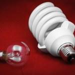 Energy efficient light bulb — Stock Photo