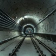 Underground facility with a big tunnel — Stock Photo #21306935