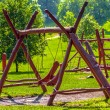 Royalty-Free Stock Photo: Kid\'s playground outdoors in the park