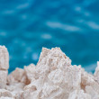 Stock Photo: Sharp stones at shores