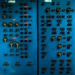 Stock Photo: Control panel in old laboratory