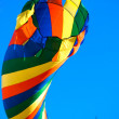 Multi colored kite — Stock Photo