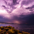 Storm at beach — Stock Photo #23342742