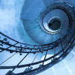 Round stairs in a church — Stock Photo #23343278