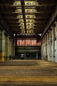Industrial interior of a factory — Stock Photo