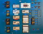Control panel of a measurement device — Stock Photo
