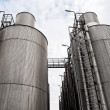 Large industrial silo outdoors - Stockfoto