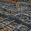 Stock Photo: Large amount of power supplies