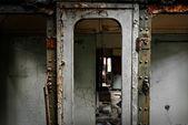 Marco industrial dañada como fondo abstracto — Foto de Stock