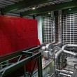 Foto de Stock  : Large industrial interior with power generator