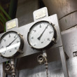 Stock Photo: Industrial measurement device closeup