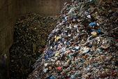 Large heap of garbage — Stock Photo