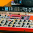 Closeup photo of audio mixer — Stock Photo #29747089