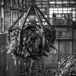 Waste processing plant interior — Stock Photo