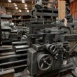 Stock Photo: Industrial machines in a factory