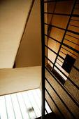 Vieja escalera indsutrial — Foto de Stock