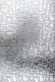Transparent glass texture — Stock Photo
