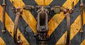 Industrial crain closeup photo — Stock Photo