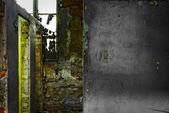 Cracking sfondo cemento industriale — Foto Stock
