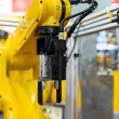 Robot arm in factory — Stock Photo #32253363