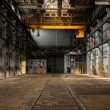Industrial interior of an old factory — Stock Photo #32253947