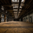Industrial interior of an old factory — Stock Photo #32254855