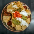 Delicious mexican food on a plate — Stock Photo