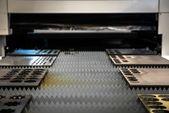 金属板の切断レーザー カッター — ストック写真