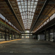 Industrial interior of old factory — Foto de stock #32260175