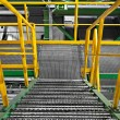Stock Photo: Industrial Interior with large staircase