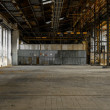 Industrial interior of an old factory — Stock Photo #32260945