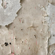 White peeling paint on the wall closeup photo — Stock Photo #32261047