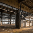 Stock Photo: Industrial interior of old factory
