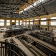 Electricity distribution hall in metal industry — Stok fotoğraf